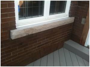 The limestone sills etc toronto brampton - Covering brick fireplace with tile ...